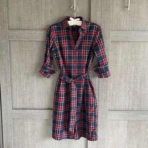 2/$80⭐️Brooks Brothers tartan (plaid) dress